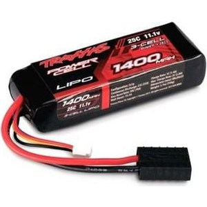 Аккумулятор TRAXXAS Li-Po 11.1В 3S 25C 1400мАч hrb lipo 3s battery 11 1v 5200mah 35c max 70c for helicopters rc bateria drone akku airplane for quadcopter traxxas car uav fpv