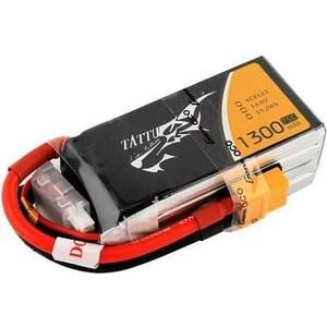 Аккумулятор Gens TATTU Li-Po 14.8В 1300мАч аккумулятор gens li po 14 8 v 1250 0mah 25c 4s1p tattu b25c125 4s