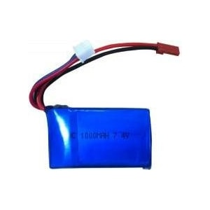 Аккумулятор EasySky Li-Po 7.4В 2S 10C 1000мАч аккумулятор reedy sp efra saddle li po 7 4в 2s 35c 4200мач