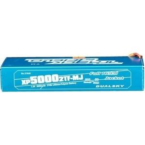 Аккумулятор Dualsky Li-Po Metal Jacket Hard case 7.4В 5000мАч 60C