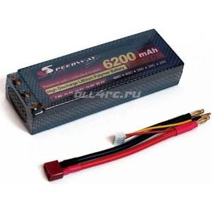 все цены на Аккумулятор SpeedWay Slide Li-Po Hard case 7.4В 6200мАч 60C with Deans to Banana Connector онлайн