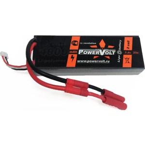 Аккумулятор PowerVolt Li-Po Powervolt 7.4В 4000мАч 25C poidet li oneplus po stopam apple