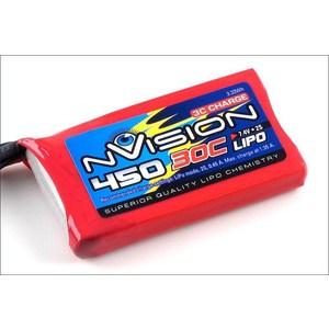 Аккумулятор nVision Li-Po 7.4В 2S 30C 450мАч
