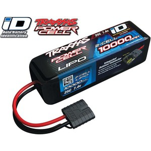 Аккумулятор TRAXXAS 10000мАч 7.4В 2 Cell 25C Li-Po Battery (iD Plug) high quality nightkonic 26650 battery 3 7v li ion rechargeable battery for led flashlight torch