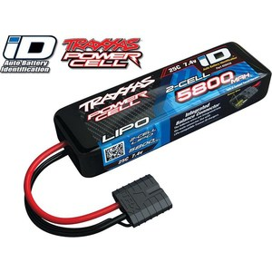 Аккумулятор TRAXXAS 5800мАч 7.4В 2 Cell 25C Li-Po Battery (iD Plug) аккумулятор traxxas 2200мач 7 4в 2 cell 25c li po battery id plug