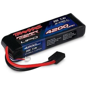 Аккумулятор TRAXXAS Li-Po 7.4В 2S 25C 4200мАч 2017 new rechargeable zop power 7 4v 800mah 2s 25c lipo battery jst plug for rc toys models helicopter quadcopter
