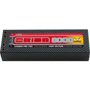 Аккумулятор Team Orion Batteries Carbon Pro V Max Li-Po 8000 110C 7.4В аккумулятор team orion li po 14 8в ori60240