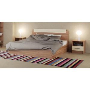 Кровать ЭРА Эко 160x200 ясень шимо кровать береста 1475х2070х850мм ясень шимо пр в 1 37