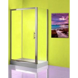 Боковая стенка Olive'S Granada FP 100 для двери SD, профиль Silver глянцевый, стекло прозрачное 5 мм (GRANFP-100-01C)