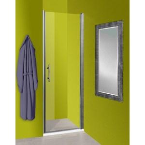 Душевая дверь Olive'S Zargoza D 100 реверсивная, профиль Silver глянцевый, стекло прозрачное 5 мм (ZARD-100-01C)
