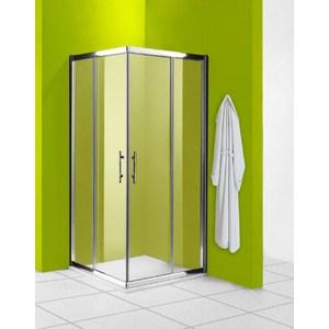 Душевой уголок Olive'S Granada C 100х100 профиль Silver глянцевый, стекло прозрачное 5 мм (GRANC-100-01C)