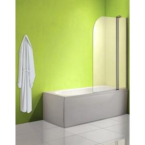 Фотография товара шторка на ванну Olive'S Toledo 2 120 правая профиль Silver глянцевый, стекло матовое (TOL2R-120-02C) (737066)