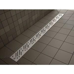 Душевой лоток с решеткой Radaway Drain Lines 55 Rain (5L055A/5R055R) kemaidi stainless steel brass bathroom shower drain floor drain trap waste grate grid strainer waste drain