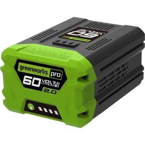 Аккумулятор GreenWorks G60B2 (2918307) аккумулятор greenworks g80b2