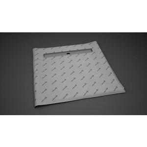 Душевой лоток с решеткой Radaway RadaDrain 75 с плитой 99x99 (5CL1010A/5R075R)