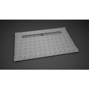 Душевой лоток с решеткой Radaway RadaDrain 115 с плитой 139x79 (5DLA1408A/5R0115R)