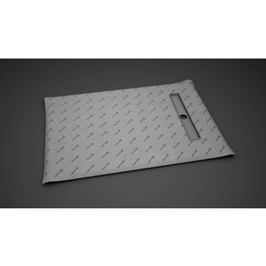 Душевой лоток для плитки Radaway RadaDrain 65 с плитой 99x89 (5DLB1009A/5R065B)
