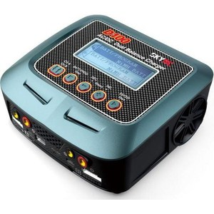 Зарядное устройство SkyRC D100 AC.DC Dual Balance 10A Charger . 5A Discharger skyrc d100 2 100w ac dc dual balance charger 10a charge 5a discharge nimh lipo battery charger twin channel charge