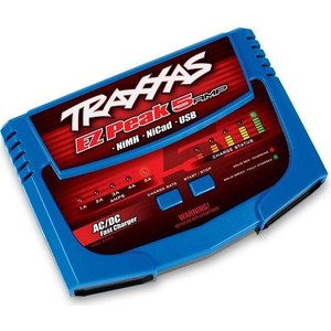 Зарядное устройство TRAXXAS 5 Amp Ni MH AC.DC Battery Charger 1 2v 1100mah ni mh rechargeable 123a battery w soldering lug grass green 2 pcs