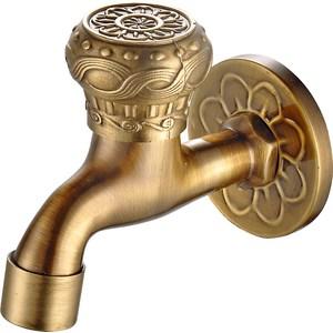 Кран сливной для бани Bronze De Luxe насадка-рассекатель бронза (21982/1) кран сливной для бани bronze de luxe насадка для шланга бронза 21982 2