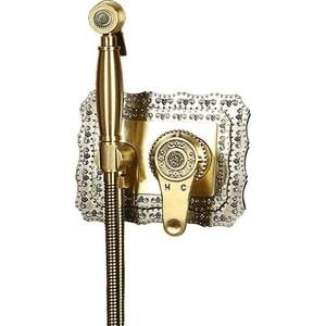 Гигиенический душ со смесителем Bronze De Luxe скрытого монажа, бронза (10136)
