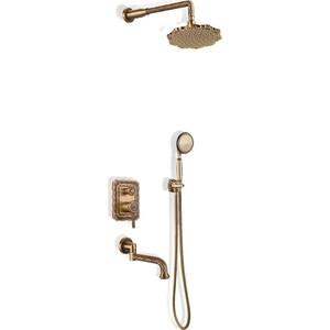 Душевая система Bronze De Luxe встраивыемая, бронза (10137F) the bronze horseman