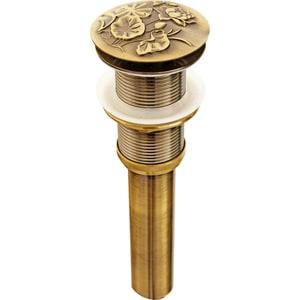 Донный клапан для раковины Bronze De Luxe клик-клак бронза (21976) выпуск для ванны kaiser d40 клик клак латунь старая бронза antique 8004в an