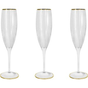 Набор бокалов для шампанского Same Пиза золото (SM2103_GAL)