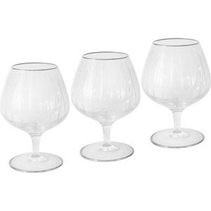 Набор бокалов для коньяка Same Пиза серебро (SM2104_SAL)