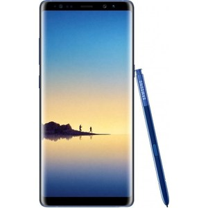 Смартфон Samsung Galaxy Note 8 SM-N950F 64Gb синий сапфир чехол для samsung galaxy note 8 sm n950f deppa air case черный