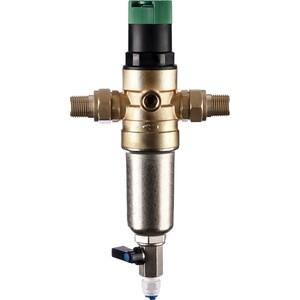 Фильтр предварительной очистки Гейзер Бастион 7508155201 (3/4 для горячей воды, с регулятором давления d52,5) (32682)
