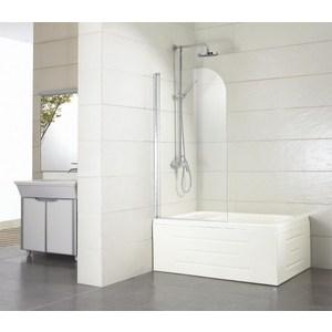 Душевая шторка на ванну Bravat Alfa 70x150 см (BG070.5110A-1)