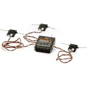 Приемник Spektrum 12 канальный DSMX/XPlus AR12020 приемник futaba 4 канальный r2004gf 2 fhss sport 2 4g для передатчиков futaba 3plg futaba 4plg и futaba