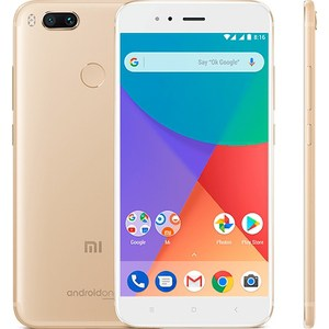 Сматрфон Xiaomi Mi A1 64Gb Gold package xiaomi mi 5s 3gb 64gb smartphone gold