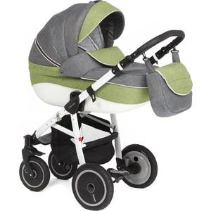 Коляска 2 в 1 Adamex Neonex (серый + зеленый) (GL000411184) коляска прогулочная adamex neonex серый зеленый 36c gl000523946