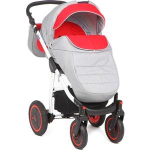Фото - Коляска прогулочная Adamex Neonex (серый + красный 39B) (GL000523951) коляска прогулочная everflo safari grey e 230 luxe