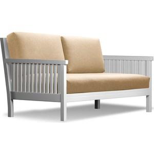 Диван Anderson Норман эмаль-бежевая рогожка шатура комплект лондон 2 рогожка микс бежевая диван 2 кресла