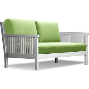 Диван Anderson Норман эмаль-зеленая рогожка диван anderson норман венге фиолетовая рогожка