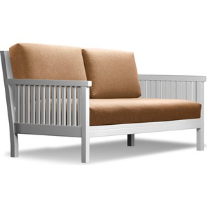 Диван Anderson Норман эмаль-коричневая рогожка шатура комплект лондон рогожка микс коричневая диван 2 кресла