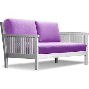 Диван Anderson Норман эмаль-фиолетовая рогожка диван anderson норман венге фиолетовая рогожка