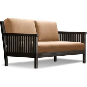 Диван Anderson Норман венге-коричневая рогожка шатура комплект лондон рогожка микс коричневая диван 2 кресла