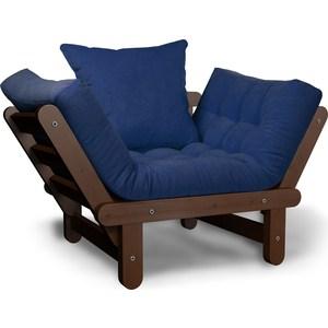 Кресло Anderson Сламбер орех-синий