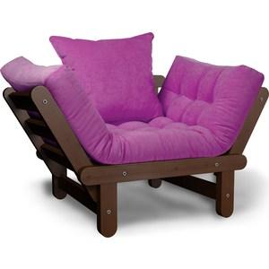 Кресло Anderson Сламбер орех-фиолетовый
