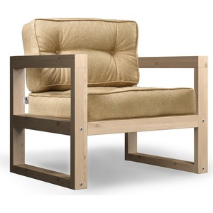 Кресло Anderson Астер сосна-бежевая рогожка.