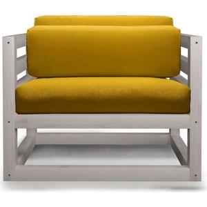 Кресло Anderson Магнус бел дуб-желтый вельвет. чаша горошек 2 л бел син 1150426