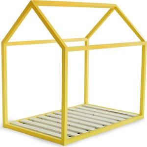 Кровать Anderson Дрима Base желтая 80x190 детская кровать домик андерсон дрима base