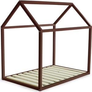 Кровать Anderson Дрима Base коричневая 80x190 детская кровать домик андерсон дрима base