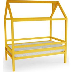 Кровать Anderson Дрима H желтая 80x190 детская кровать домик андерсон дрима н