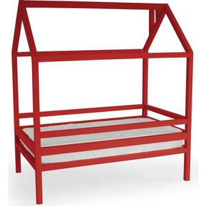 Кровать Anderson Дрима H красная 90x190