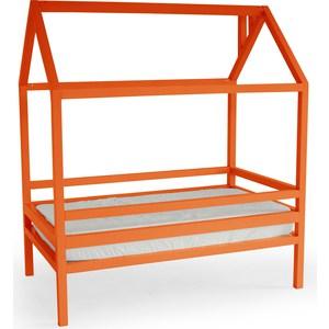 Кровать Anderson Дрима H оранжевая 80x190 детская кровать домик андерсон дрима н